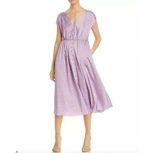 Kate Spade Geo Dot Midi Dress Size 2